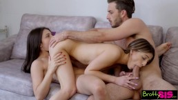 Bratty Sis – Helping My Step Sis Give Her Bestie First Threesome S9:E7